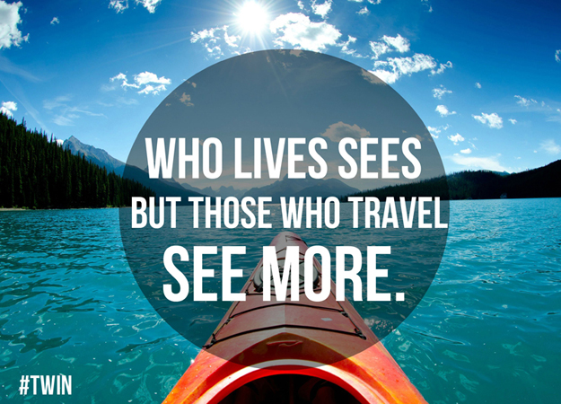 those who travel, see more